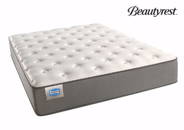 Twin Beautyrest Bevington Plush Mattress at an Angle | Home Furniture Plus Mattress
