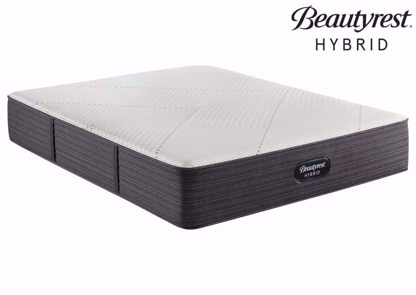 Twin Beauytrest Hybrid BRX1000-C Plush Mattress at an Angle | Home Furniture Plus Bedding