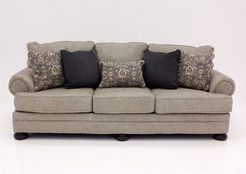 Tan Kananwood Sofa by Ashley Furniture Facing Front | Home Furniture Plus Bedding