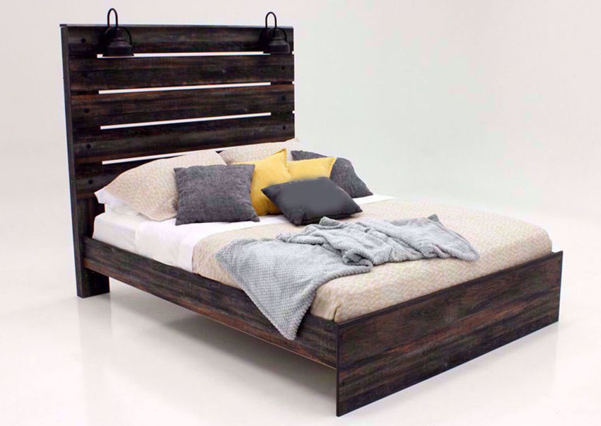 Picture of Drystan King Size Bed – Brown
