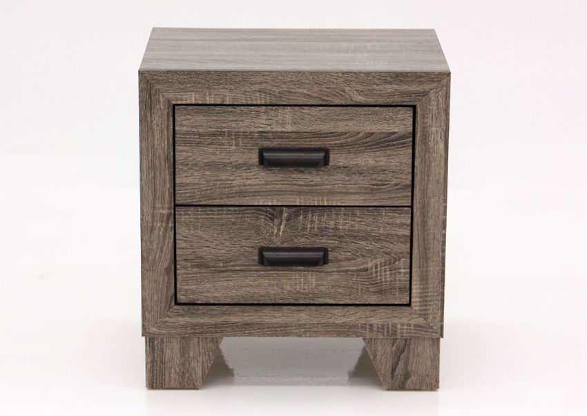 Gray Millie Nightstand Facing Front | Home Furniture Plus Mattress