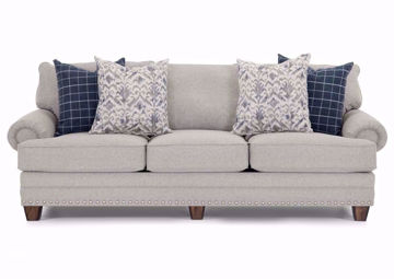 Light Gray Fletcher Sofa by Franklin Facing Front | Home Furniture Plus Mattress