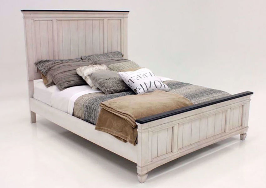 Picture of Sawyer Queen Size Bed - White