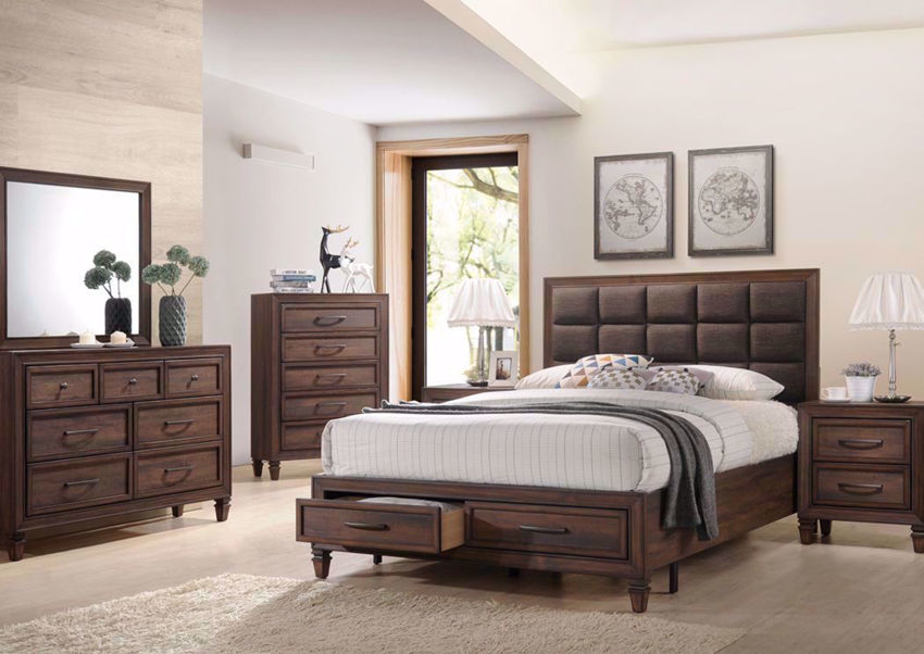 Dark Brown Gemini Bedroom Set by Intercon in a Room Setting | Home Furniture Plus Mattress