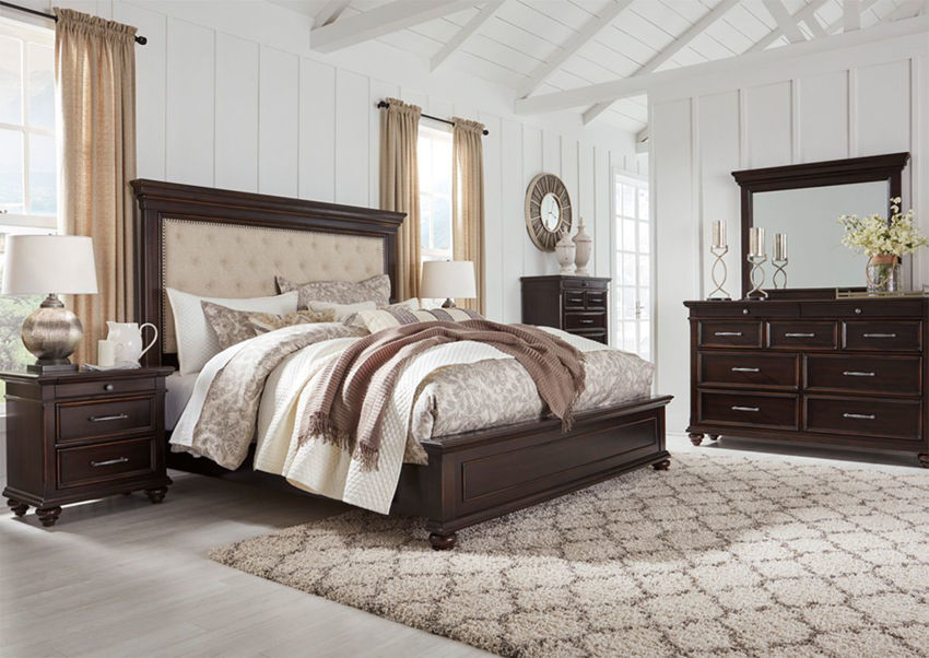 Brynhurst Queen Size Bedroom Set Dark