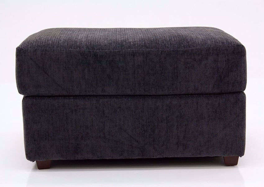 Charcoal Gray Stephenson Ottoman by Lane Facing Front | Home Furniture Plus Mattress