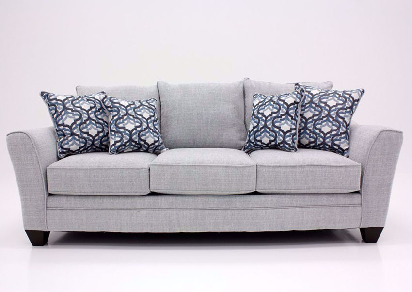 Light Gray Dante Sofa by Lane, Front Facing | Home Furniture Plus Bedding