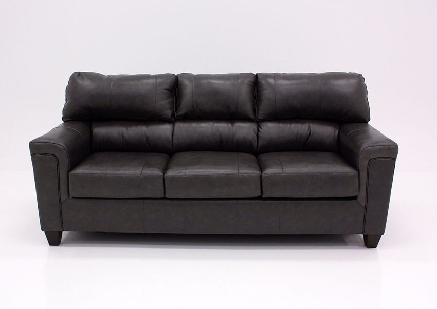 Fog Gray Soft Touch Sofa, Front Facing | Home Furniture Plus Bedding