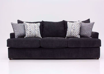 Charcoal Gray Stephenson Sofa by Lane Facing Front | Home Furniture Plus Mattress