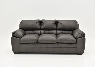 Gray Bolton Sofa by Simmons Upholstery, Front Facing | Home Furniture Plus Bedding