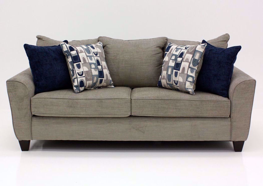 Gray Alamo Sofa by Lane, Front Facing | Home Furniture Plus Bedding