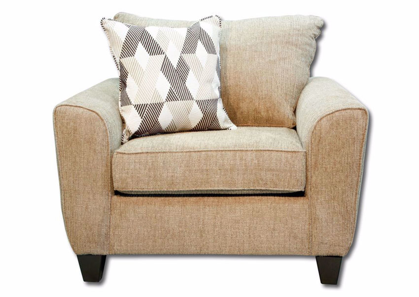 Light Brown Reed Chair by Lane, Front Facing | Home Furniture Plus Mattress