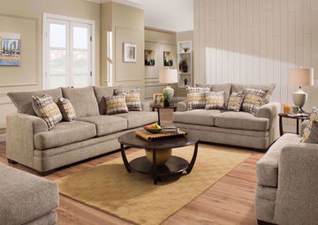 Picture of Perth Sofa Set - Pewter