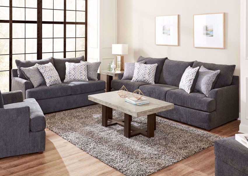 Stephenson Sofa Set - Gray