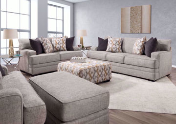 Beige Protege Sofa Set by Franklin in a Room Setting | Home Furniture Plus Bedding