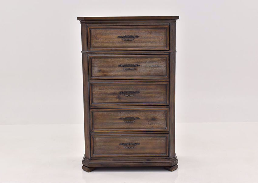 Hickory Brown Casa Grande Chest of Drawers by Lane Furnishings Facing Front | Home Furniture Plus Mattress