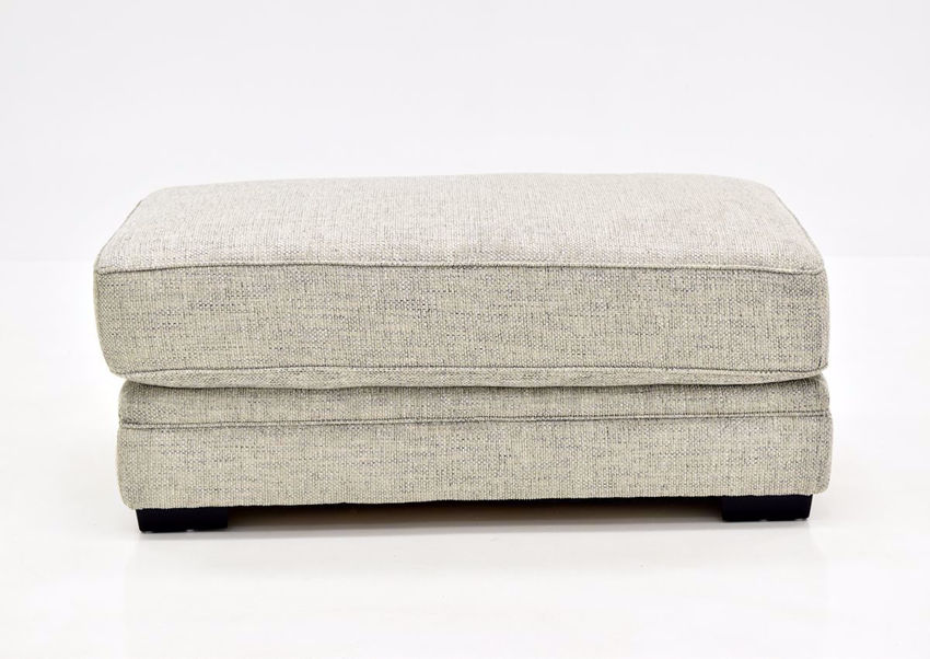 Beige Protege Ottoman by Franklin front view   Home Furniture Plus Bedding