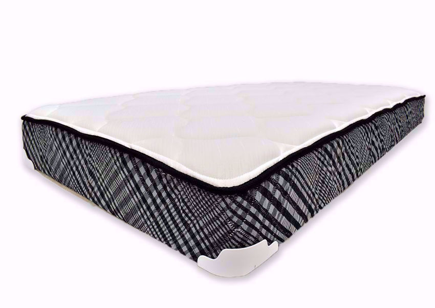 Bunkie Twin Size Mattress by Corsicana Bedding Angle View | Home Furniture Plus Bedding