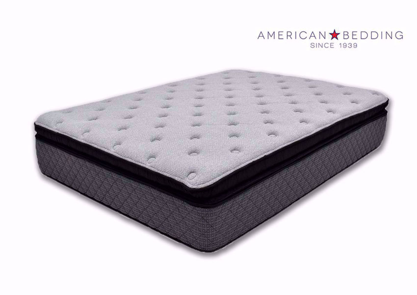 Anthem Pillow Top Twin Size Mattress by American Bedding Angle View | Home Furniture Plus Bedding