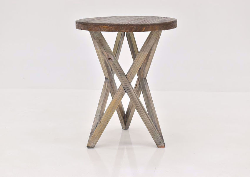 Brown Galaxy End Table by Vintage Furniture | Home Furniture Plus Bedding