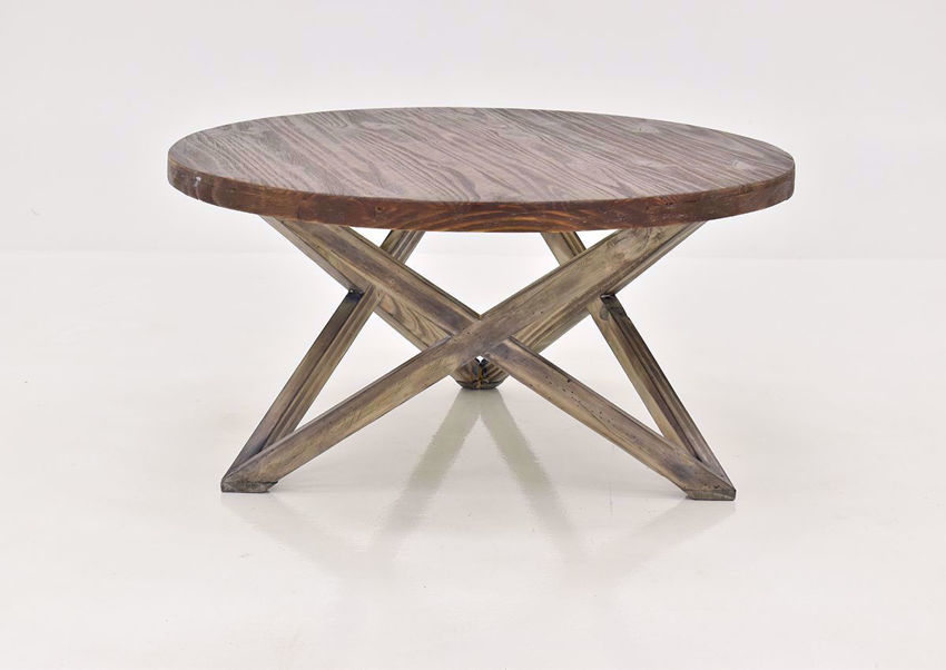 Brown Galaxy Coffee Table by Vintage Furniture | Home Furniture Plus Bedding