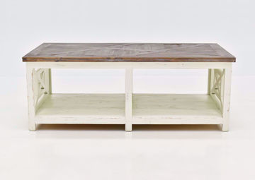 White Grande Coffee Table by Vintage Furniture | Home Furniture Plus Bedding