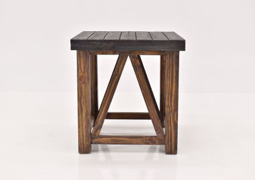Brown Spencer End Table by Vintage Furniture | Home Furniture Plus Bedding