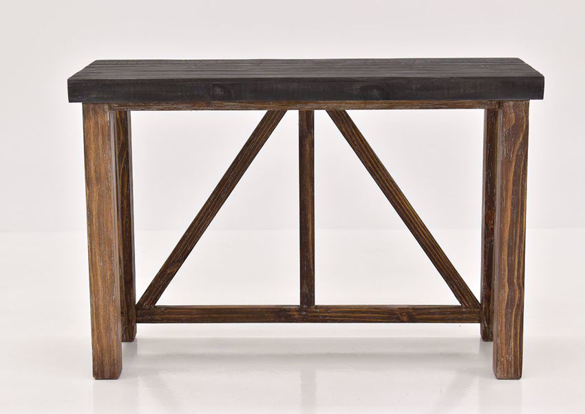 Brown Spencer Sofa Table by Vintage Furniture | Home Furniture Plus Bedding