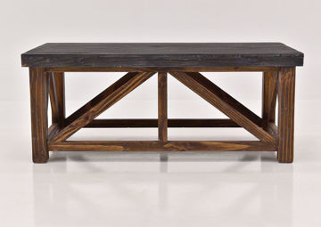 Brown Spencer Coffee Table by Vintage Furniture | Home Furniture Plus Bedding