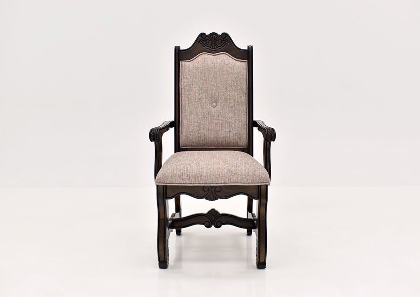 Brown Renaissance Arm Chair | Home Furniture Plus Bedding