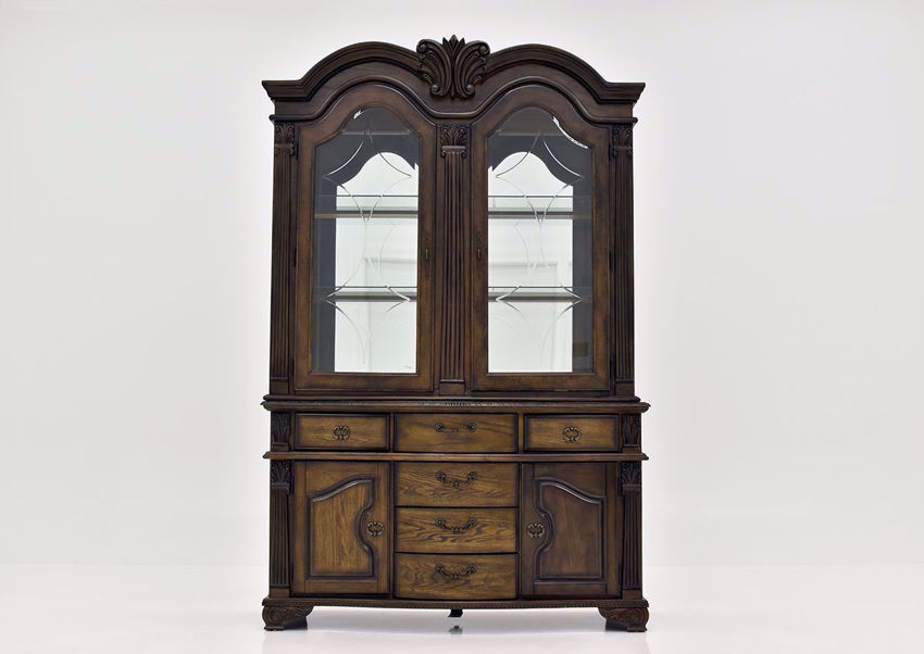 Brown Renaissance Dining Hutch & Server | Home Furniture Plus Bedding
