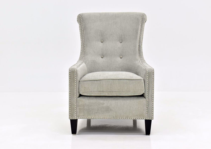 Gray Riker Accent Chair | Home Furniture Plus Bedding