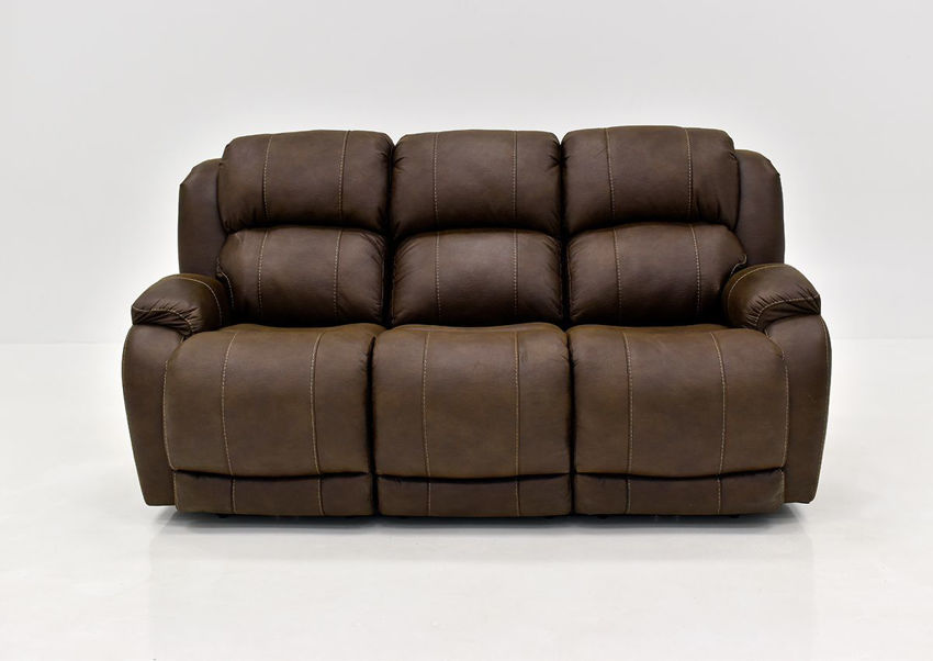 Brown Denali POWER Reclining Sofa by HomeStretch | Home Furniture Plus Bedding