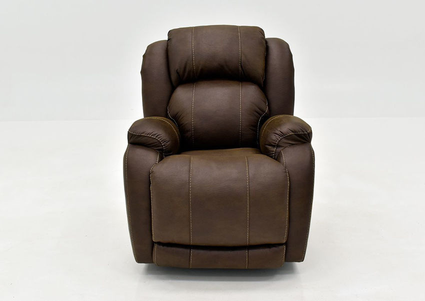 Denali Recliner with Brown Microfiber Upholstery by HomeStretch | Home Furniture + Mattress