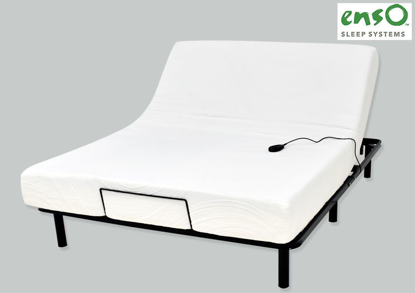 Picture of Advantage Queen Size Mattress & Free Adjustable Bed Base