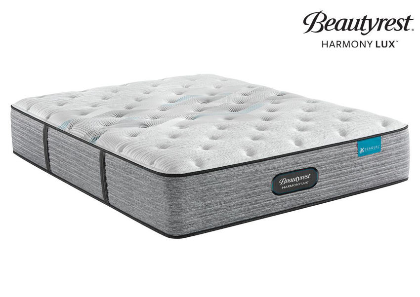 Harmony Lux Carbon Plush Mattress by Beautyrest, Twin Size, Made in the USA | Home Furniture Plus Bedding