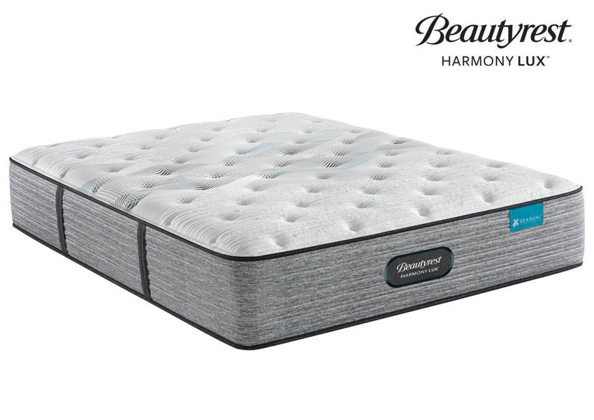 Harmony Lux Carbon Medium Mattress by Beautyrest. Queen Size. Made in the USA | Home Furniture Plus Bedding