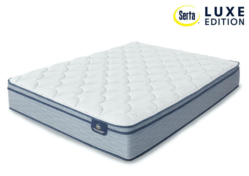 Armisted Plush Euro Top Mattress by Serta. King Size. Made in the USA | Home Furniture Plus Bedding