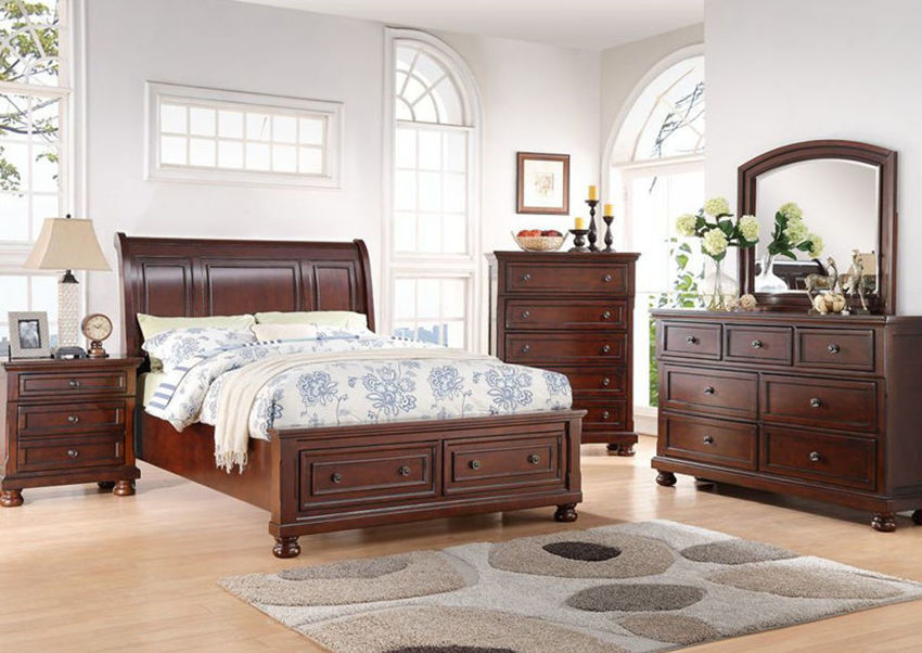 Picture of Sophia King Size Bedroom Set - Brown