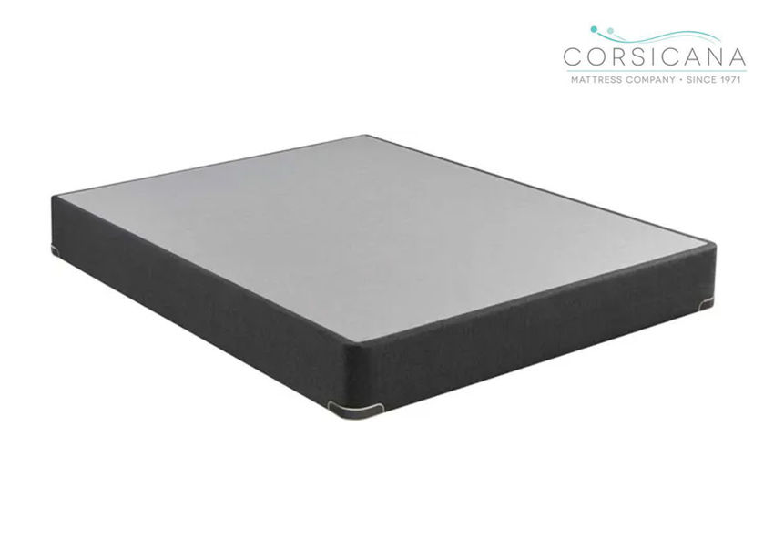 Corsicana Coal 9 Inch Box Spring 6010, Twin Size, Made in the USA | Home Furniture Plus Bedding