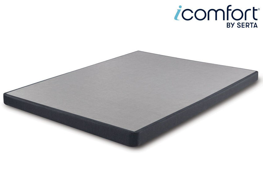Serta iComfort Hybrid 6 Inch Foundation, Queen Size, Made in the USA | Home Furniture Plus Bedding
