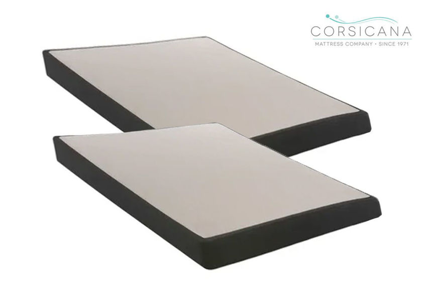 Corsicana 4 Inch Low Profile Foundation, King Size, Made in the USA | Home Furniture Plus Bedding