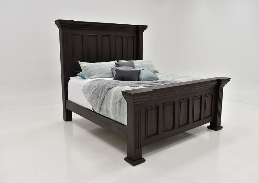 Picture of Chalet Queen Size Panel Bed - Brown