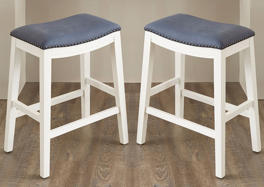 Dexter 24 Inch Bar Height Barstool by Kith Furniture Showing the Room View, Made in the USA   Home Furniture Plus Bedding