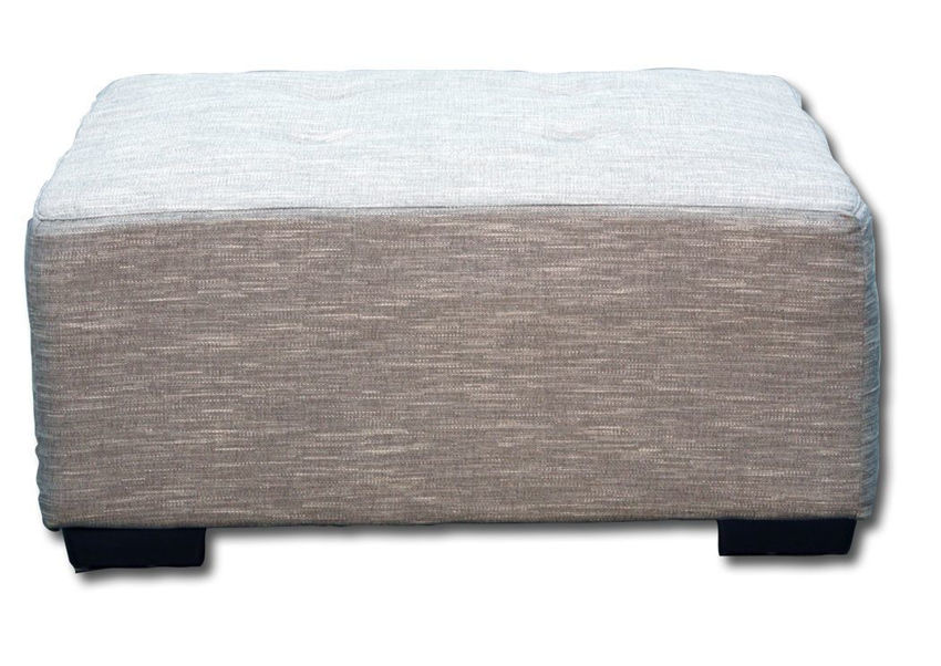 Picture of Barton Large Ottoman - Gray