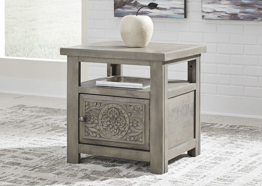 Room Shot of the Marcilyn End Table | Home Furniture Plus Bedding