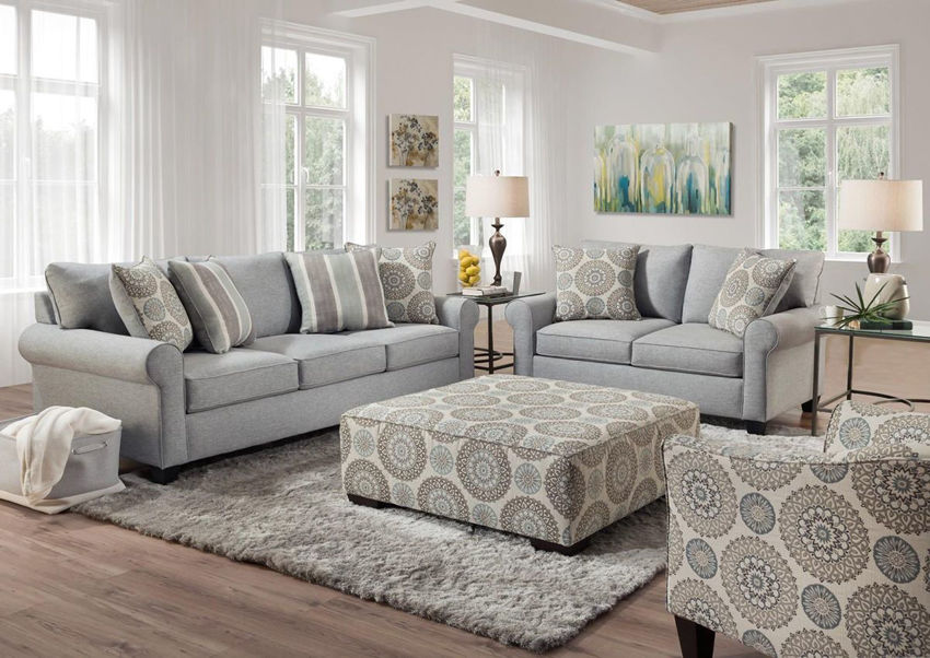 Room View of the Vivian Sofa Set by Behold Home | Home Furniture Plus Bedding