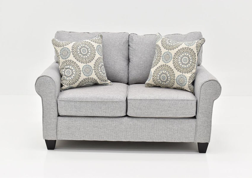 Front Facing View of the Vivian Loveseat by Behold Home | Home Furniture Plus Bedding