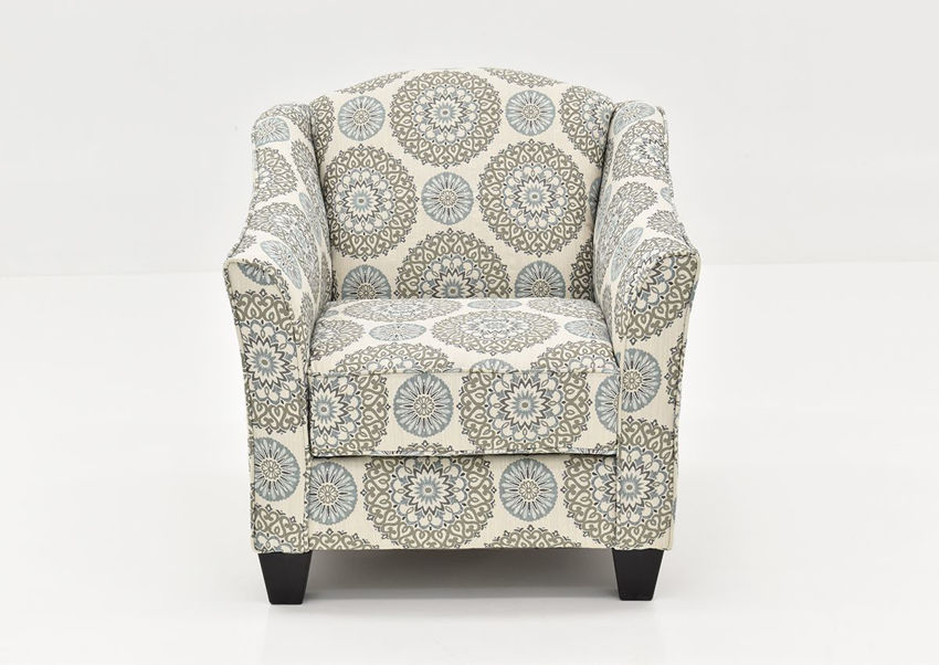 Front Facing View of the Multicolored Vivian Accent Chair by Behold Home | Home Furniture Plus Bedding