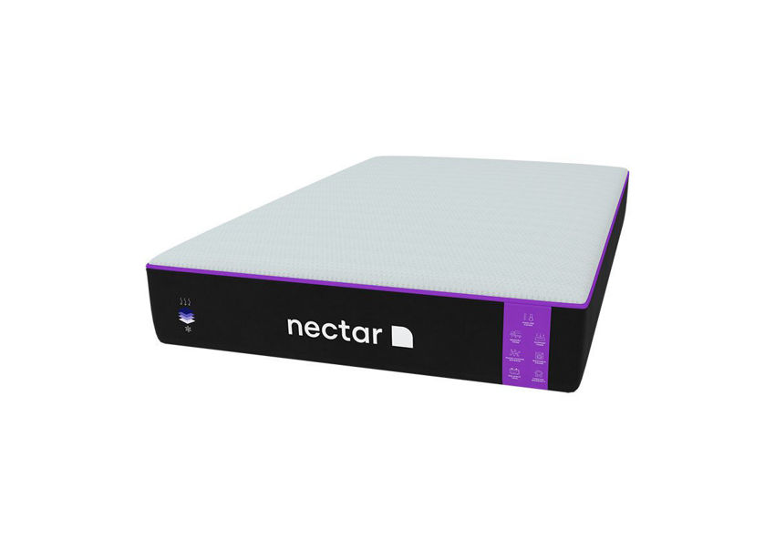 Slightly Angled View of the Nectar Premier King Size Mattress | Home Furniture Plus Bedding